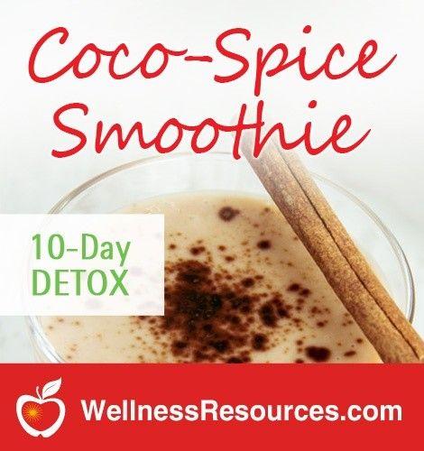 Coco-Spice Detox Smoothie