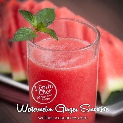 Watermelon Ginger Smoothie