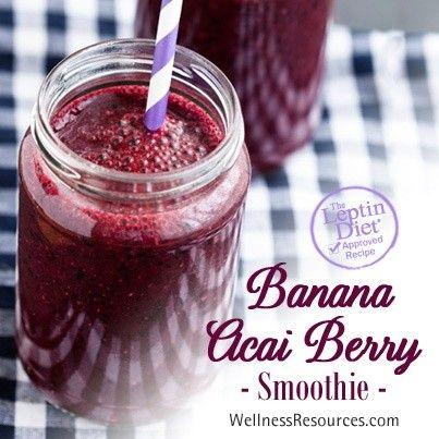 Banana Acai Berry Smoothie