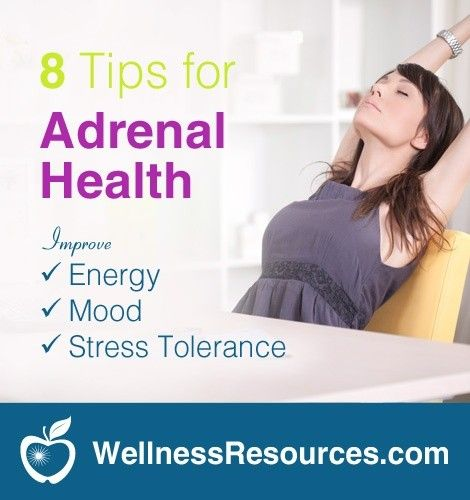 lifestyle tips for adrenal health