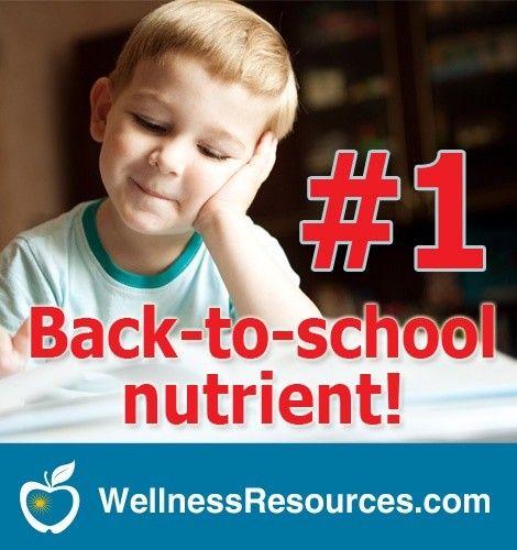 back to school nutrients
