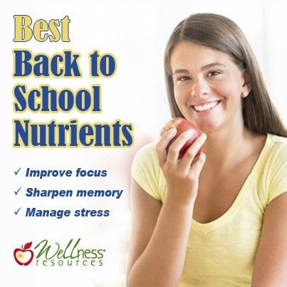 best back to school nutrients