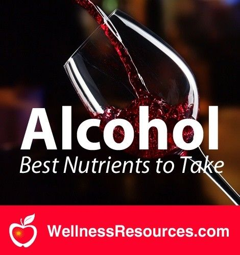 alcohol-nutrients