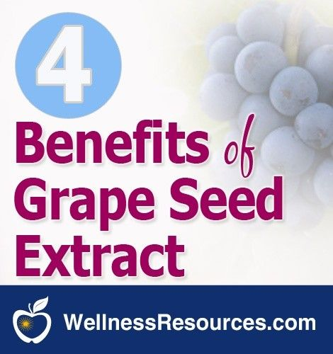 grape seed extract and heart health