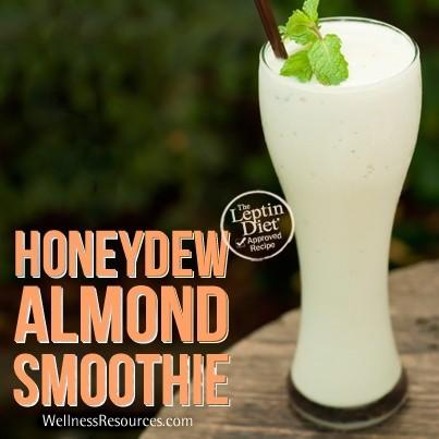 Honeydew Almond Smoothie