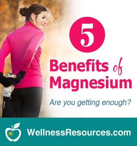 5 Reasons You Need Magnesium