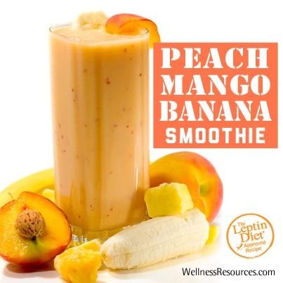 Peach-Mango-Banana Smoothie