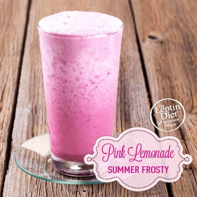 Pink Lemonade Summer Frosty