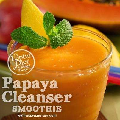 Papaya Cleanser Smoothie