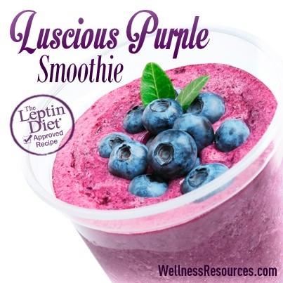 Luscious Purple Smoothie