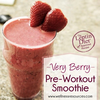 Very Berry Pre-Workout Smoothie
