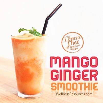 Mango-Ginger Smoothie