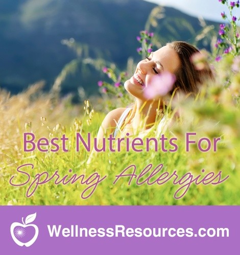 Best Nutrients to Fight Spring Allergies Naturally