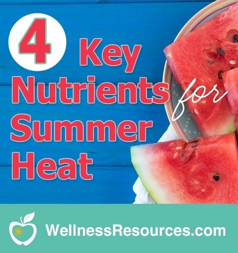 summer heat nutrition