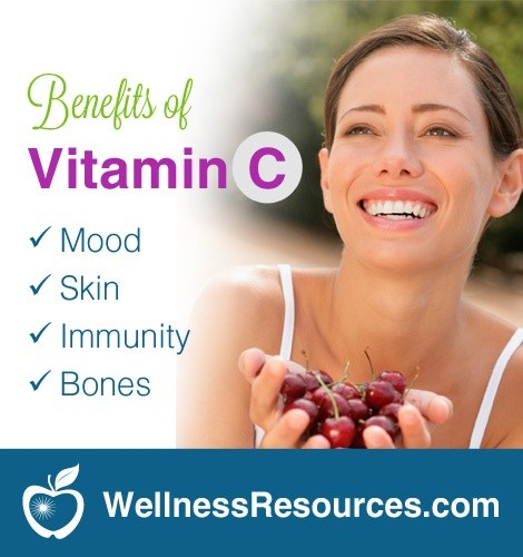 Vitamin C Helps Mood, Skin, and Bones